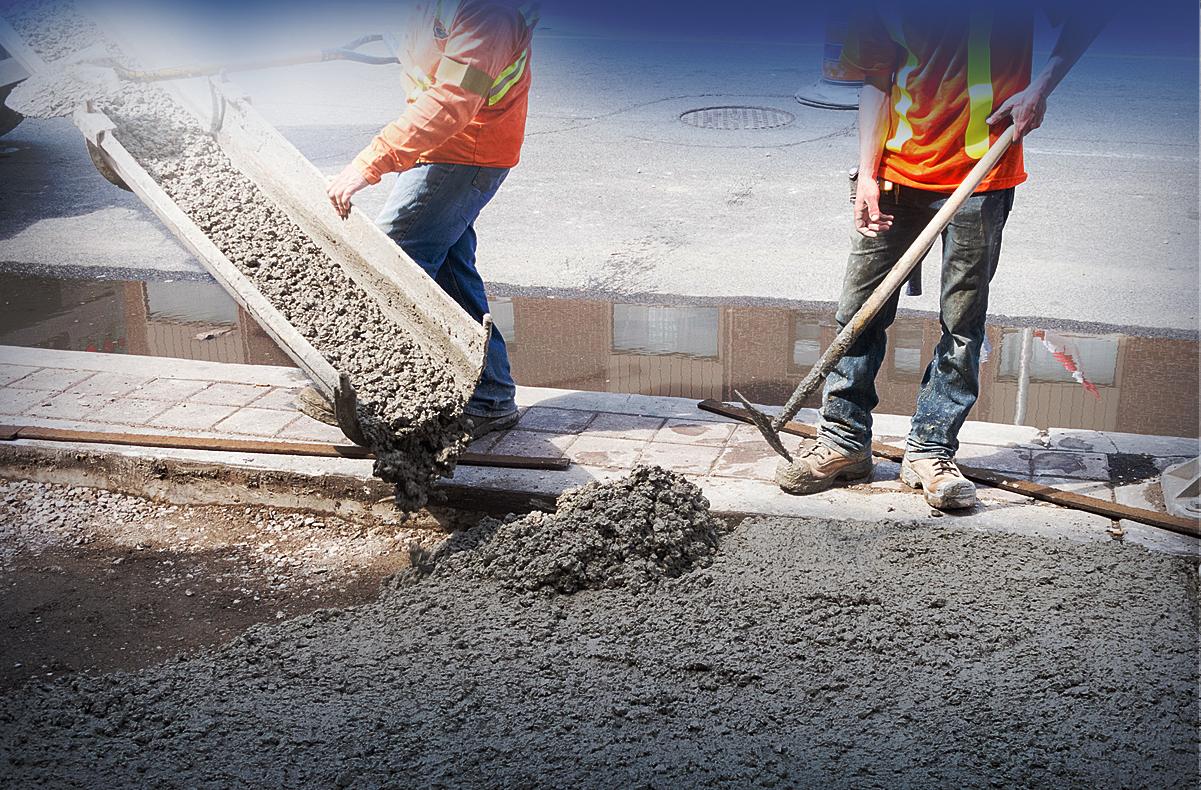 Заливка бетонной смеси в свою цемент москва цены